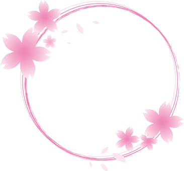 Sakura ornament