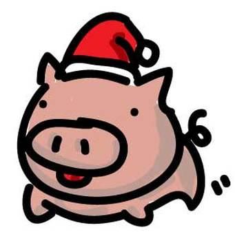 Swine and piglet