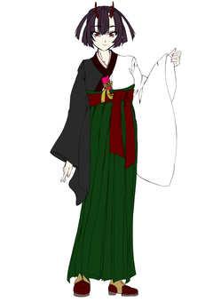Kashima Maehi, ผู้หญิง Hakama 1