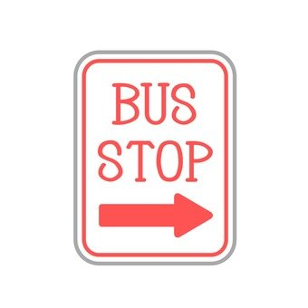 Sign (bus stop)