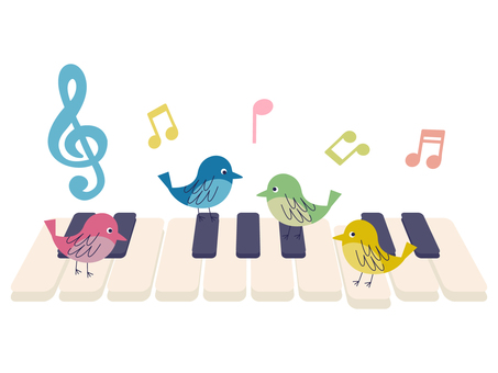 Birds and pianos