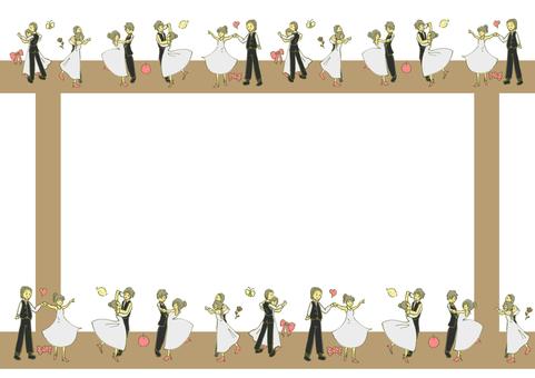 사교 댄스 프레임