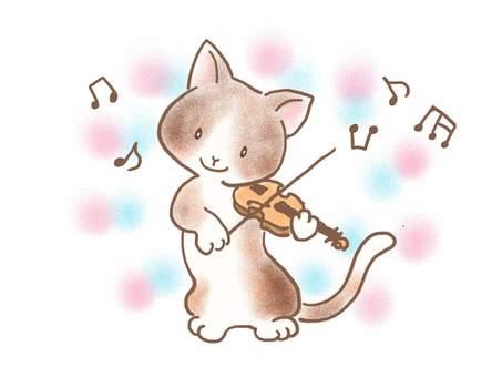 バイオリンねこ36