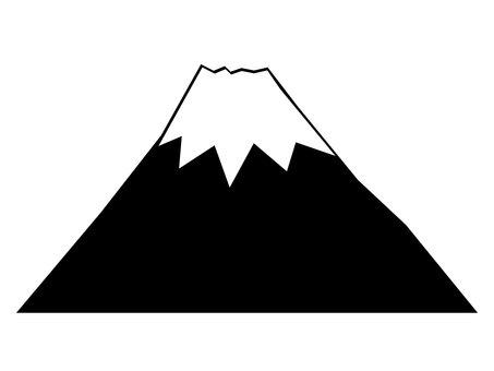 Mt. Fuji silhouette