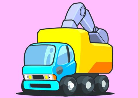 Garbage disposal vehicle
