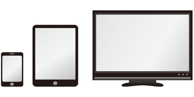 Personal computer · tablet · smartphone