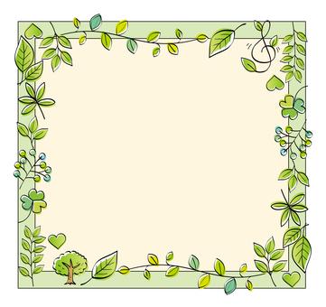 Leaf's natural frame