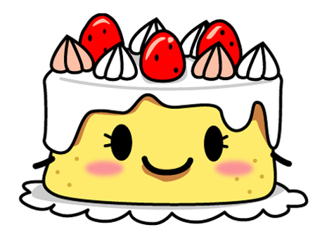 Strawberry cake ♪