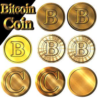 黄金のコイン(ビットコイン)