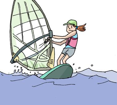 Sailing ②