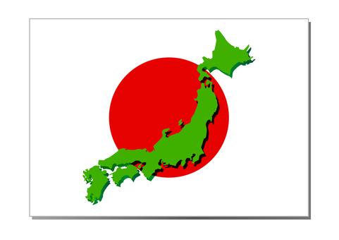 日本地圖03的插圖
