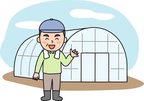 Vinyl house farmer