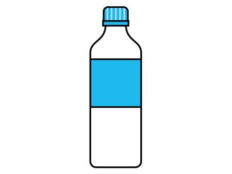 Pet bottle beverage container (3) unopened yellowish green