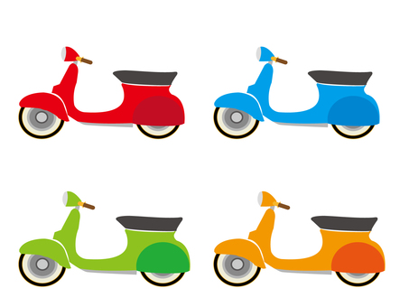Various scooters