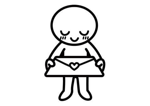 Stickman - Passing a love letter