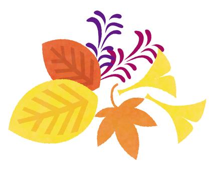 Fall _ fallen leaves