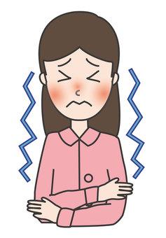 Cold symptoms-chills