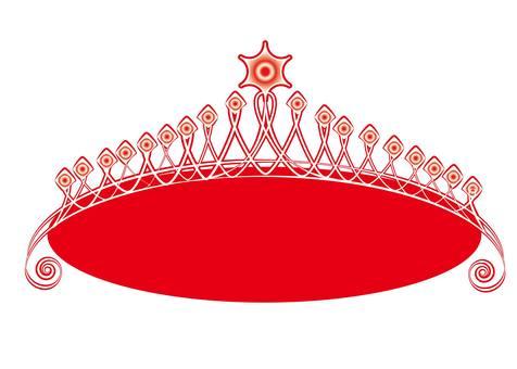 Red tiara B