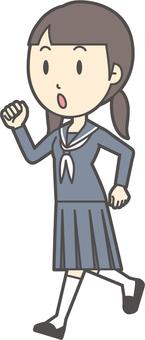 初中水手女人-284-全身