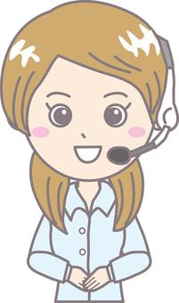 Operator female long sleeve 1
