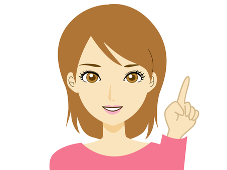 Maki-chan series pointing 1