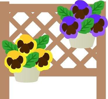 Flowers in Lattice