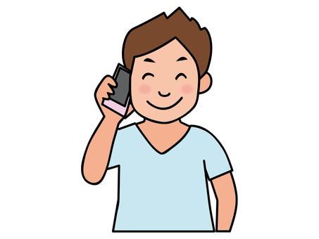 電話-男20