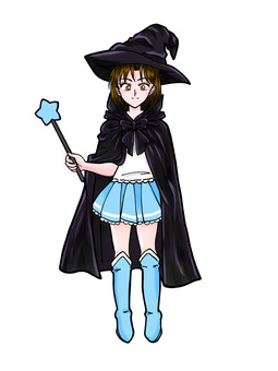 Magical Girl (Blue)