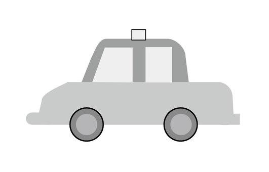 Taxi (black & white)