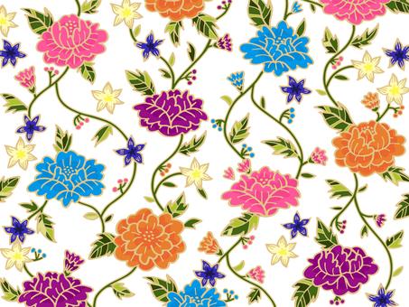 アジア風の花の壁紙01