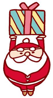 Lift Santa's gift