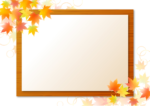 Autumn maple frame 5