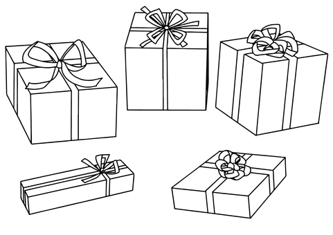 Gifts (monochrome)