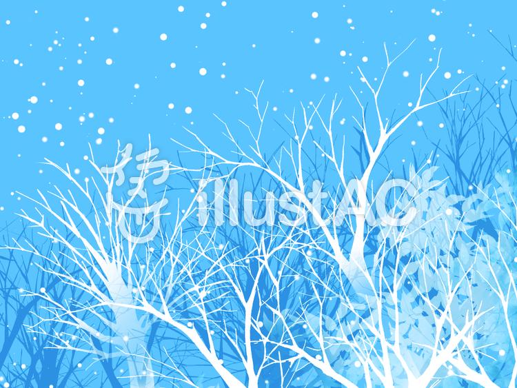 冬 風景青イラスト No 579639無料イラストならイラストac