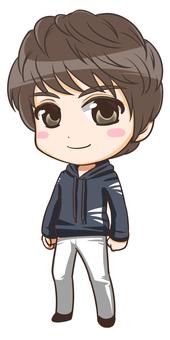 Mini character (male)