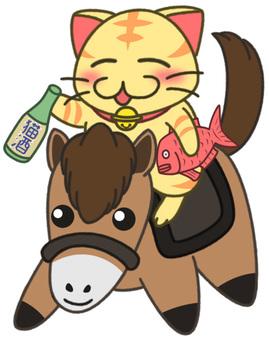 Dry cats (horses) 2