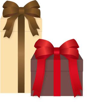 선물 2 개