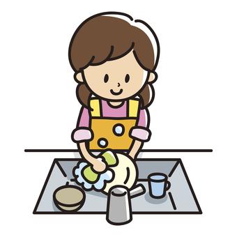 Dish-washing