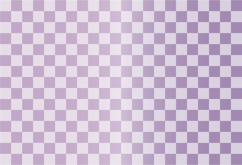 Purple lattice pattern
