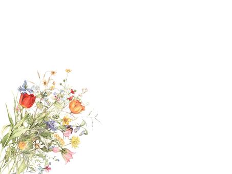 春天的花束1春天設計的花束