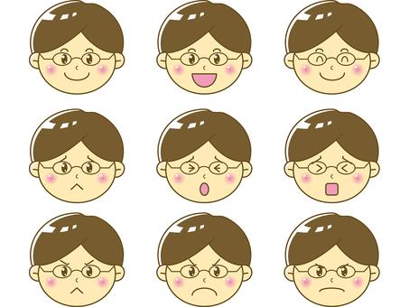 Child / boy face 01