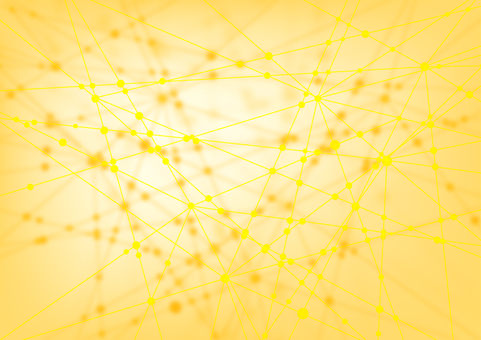 Yellow network abstract background material