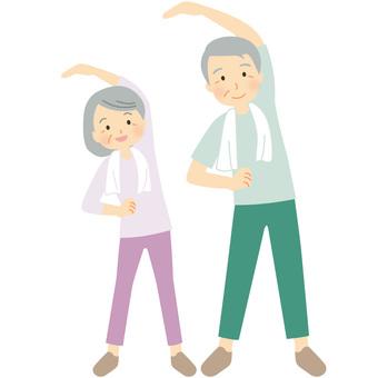 Gymnastics elderly