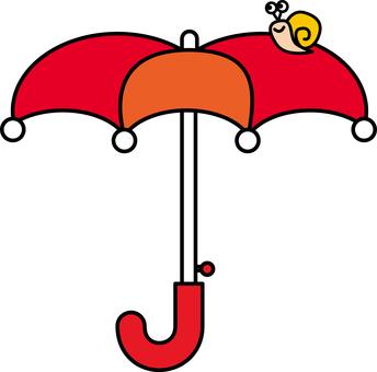 우산과 달팽이
