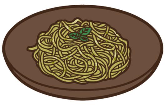 Basil pasta