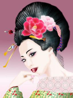 Kimono women 12