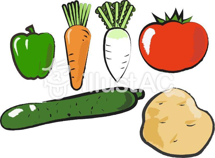 野菜 イラスト 手書き