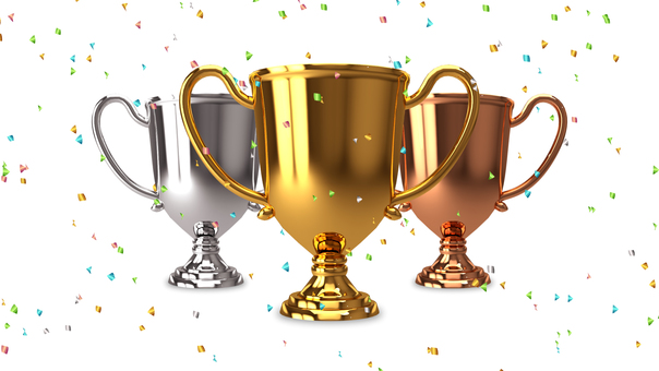 Trophy _ Set _ Confetti