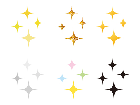 Glitter material 3