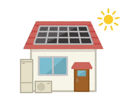 Solar power generation and Eco Cute